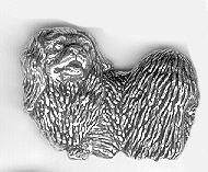 Tennbrosch Pekingese